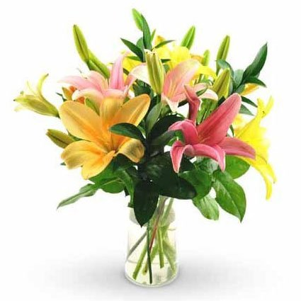 Asiatic Lily Bouquet