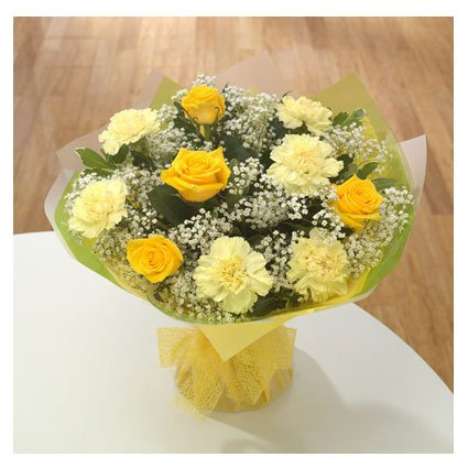 A Bunch of Yellow Roses