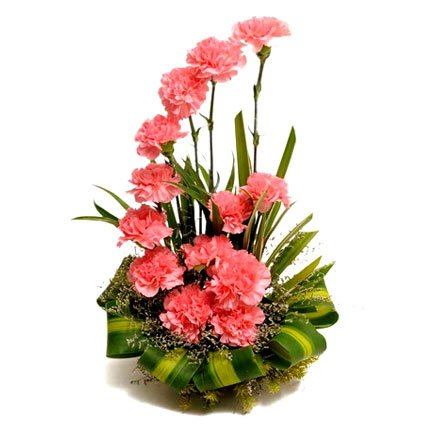 Carnation Funeral Arrangement