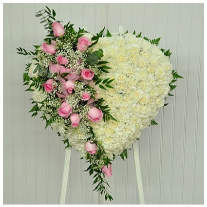 Carnation Funeral Arrangement