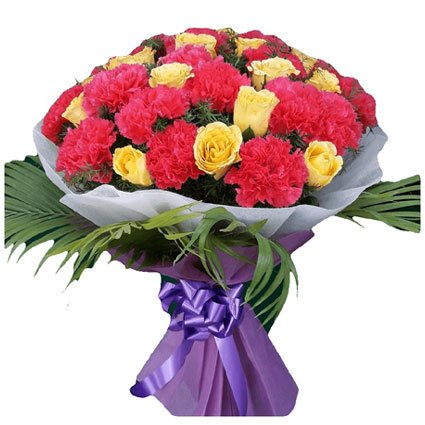 Bouquet of Carnation Flowers
