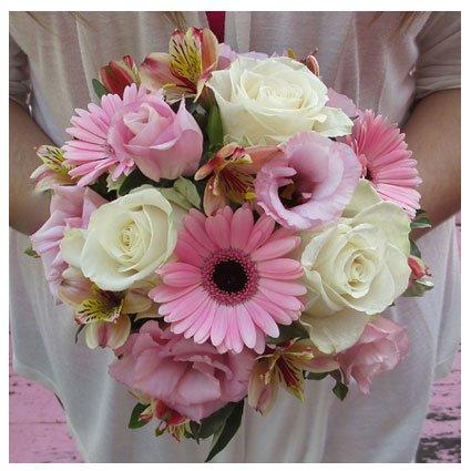 Fresh Bouquet for Wedding