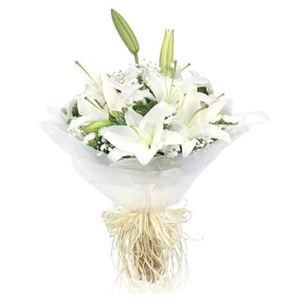 A Bouquet of Lilies