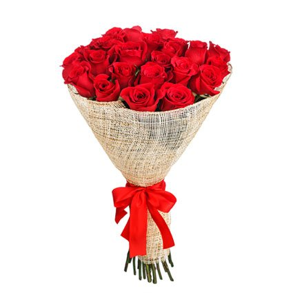 Red Roses Bouquet for Birthday