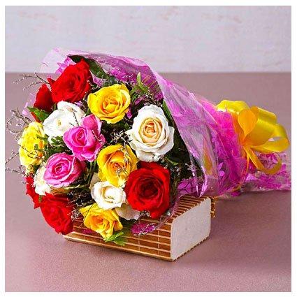 15 Roses Bouquet