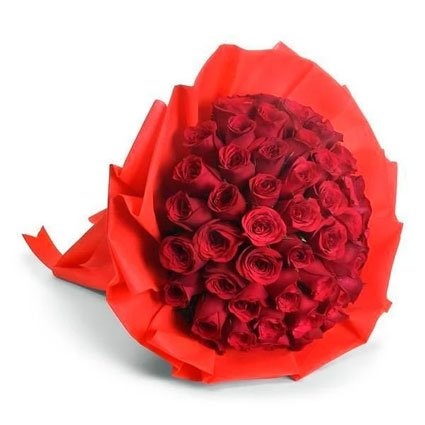 50 Red Roses Bouquet