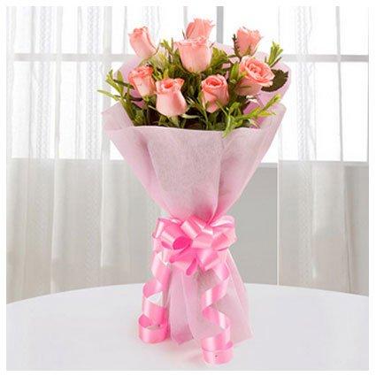 8 Roses Bouquet