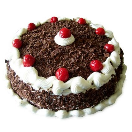 Delicious Black Forest Cake – 1 Kg