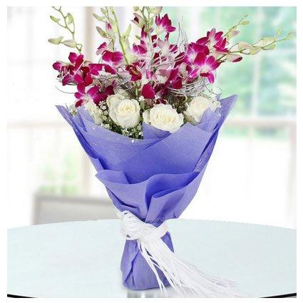 Flower Bouquet for Birthday