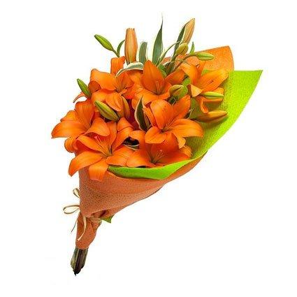 Orange Lily Bouquet