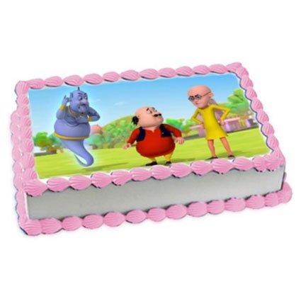 Photo Cake Square Shape