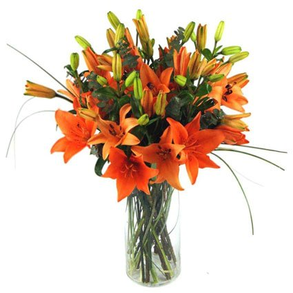 Tiger Lily Flower Bouquet