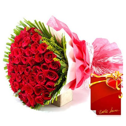 Red Roses Message