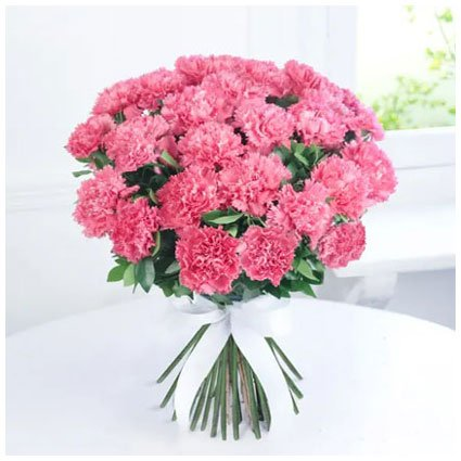 Pink Carnation Hand Bunch