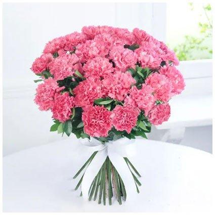 Pink Carnation Hand Bunch